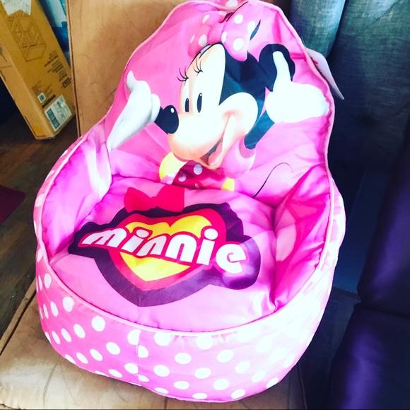 Sensational Minnie Mouse Bean Bag Chair Creativecarmelina Interior Chair Design Creativecarmelinacom
